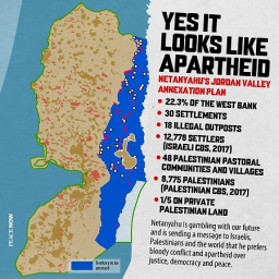 ISRAEL IS ON THE VERGE OF ANNEXING THE WEST BANK