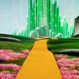 My Yellow Brick Road to My Emerald City