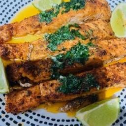 Oven Baked Scottish Salmon Recipe